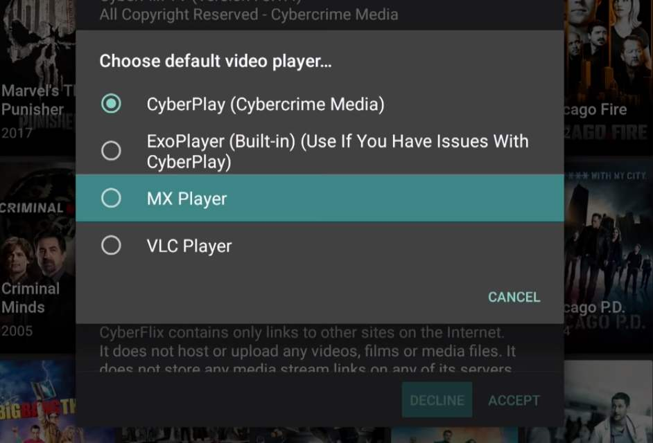 cyberflix-tv-mx-player-on-Android-tv-box