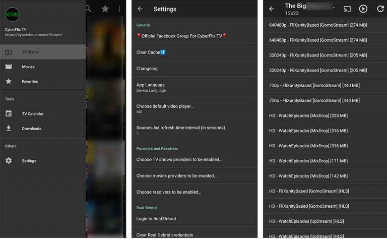 Cyberflix TV 3.3.1 APK Free  Download 2